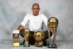 The Brazilian Legend, Ronaldo Nazario Dealima! God Of Football, Legends Football, First Football, Football Icon, Football Is Life, Retro Football, Football Design, World Football, Football Players