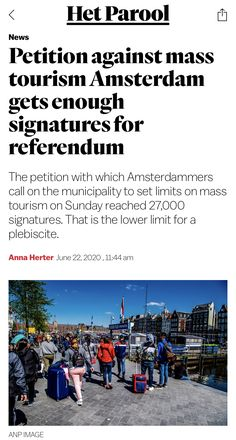 Amsterdam, Tourism, June, News, Image, Travel, Turismo