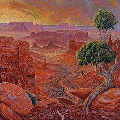 Navajo artist, Shonto Begay