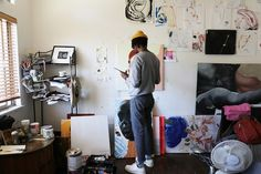 UO Studio Visits: Devin B Johnson - Urban Outfitters - Blog