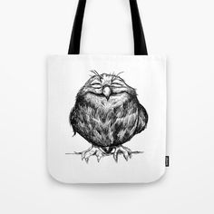 Buy Owl Ball Tote Bag by Dave Mottram. Worldwide shipping available at Society6.com. Just one of millions of high quality products available.