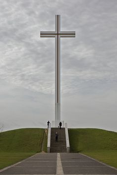 Papal Cross in Phoenix Park, Dublin, Ireland  This was a cool place to visit.
