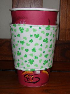 Lucky Shamrocks Saint Patricks Day by MyCozyCabinCreations on Etsy, $4.00
