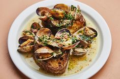 Even if you tried to make it to all the best new restaurants in America from our 2017 Hot 10 list, it would take a while. To fill in the gaps between road-trip-worthy meals, you can make 17 of the Top 50 finalists' dishes at home, including clam toast from Hart's, Palizzi Social Club's stuffed shells