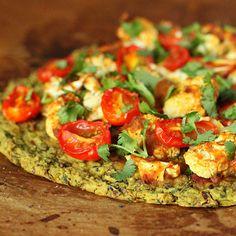 vegetarian pizza/ gluten free pizza on Pinterest | Pizza, Polenta ...
