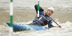 Canoë-kayak (Hommes) Jeux Olympiques - Canoë : Denis Gargaud en demie