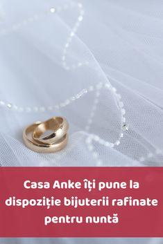 Dupa rochia de mireasa, bijuteriile de mireasa reprezinta elementul esential care ii confera acesteia eleganta si stralucire. Casa Anke lucreaza direct cu designeri, producatori si importatori de bijuterii, oferindu-ti optiunile complete pentru alegerea bijuteriilor potrivite pentru nunta. Wedding Rings, Stud Earrings, Engagement Rings, Jewelry, Enagement Rings, Jewlery, Jewerly, Stud Earring, Schmuck