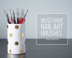 Sammy / 3rd December 2015My Must Have Nail Art BrushesMy Must Have Nail Art Brushes   The Nailasaurus