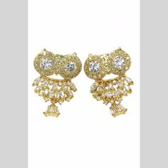 Statement earrings are the new statement necklaces.