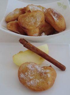 Beignets de Mardi Gras à la pomme et à la cannelle sans gluten et sans lactose