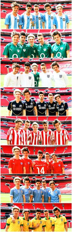 Where We Are 2014. Who the hell let these boys be so gorgeous