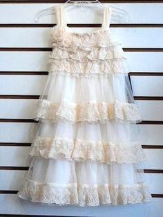 New-Spring-2015-Isobella-Chloe-Secret-Garden-ivory-lace-ruffle-dress-5-NWT