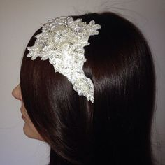 Bridal Hairband with Pearl and Crystal detail..see www.falabellaaccessories.com for details