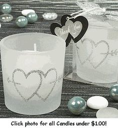 This site has TONS of wedding favors for under $1 or $2! Other inexpensive wedding things too!
