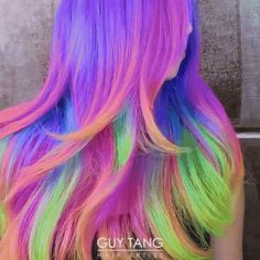 Rainbow Hair GIF - Tenor GIF Keyboard - Bring Personality To Your Conversations   Say more with Tenor