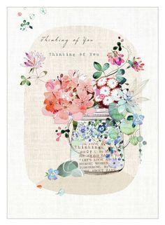 Lynn Horrabin - Jar Floral