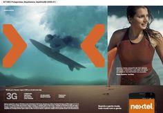Maya Gabeira Campanha Nextel 2014 Agência Loducca