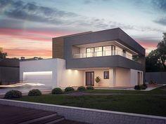 Projekt domu SZ5 Zx108 - DOM OZ8-99 - gotowy projekt domu