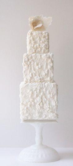 <3 wedding cake extra tall!
