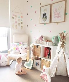 """30 Likes, 3 Comments - Kubbi and Co. (@kubbi_and_co) on Instagram: """"Baby Birdie has so many pretty things to look at in her room... including her @kubbi_and_co name…"""""""