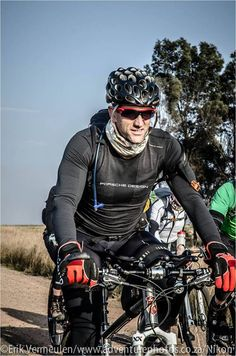 Pro adventurer Alex Harris will be doing the Tour Divide challenge (http://tourdivide.org/the_race) in his Porsche Design gear.