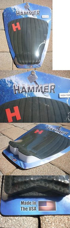 Skimboards 155141: Hammer Traction Black High Top 1Pc Tail Pad Grip Surfboard Skimboard Usa -> BUY IT NOW ONLY: $34.99 on eBay!