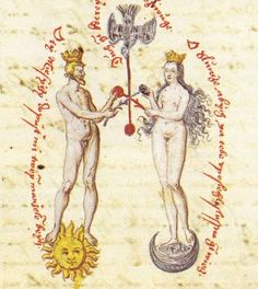 Alchemy: An Allegorical Map to Consciousness Transmutation Yi King, C G Jung, A Discovery Of Witches, Mystique, Adam And Eve, Sacred Art, Archetypes, Sacred Geometry, Middle Ages