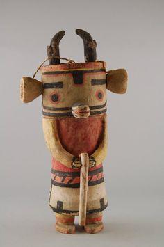 Brooklyn Museum: Arts of the Americas: Ysivkatsina [Antelope] Kachina Doll