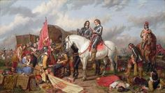Cromwell in the Battle of Naseby in 1645, by Charles Landseer