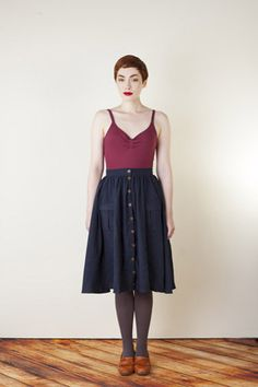 I will be making this skirt this month for sure...Zinnia by Colette Patterns