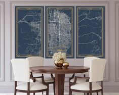 DURHAM North Carolina map Art Deco Stretched Canvas print Map Wall art canvas print ready to hang for home decor Art Deco Map Style Map Wall Art, Art Mural, Canvas Wall Art, Map Artwork, Wall Décor, Large Canvas Prints, Stretched Canvas Prints, England Map, London England