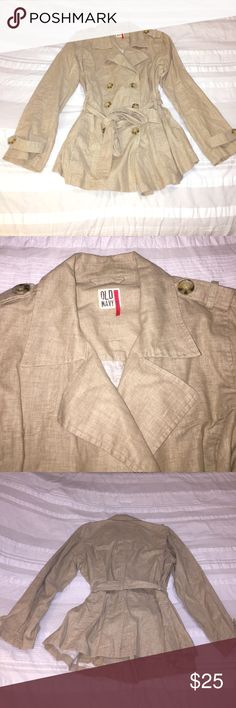 Old Navy - Linen Lightweight Jacket - Size Large Like New - Old Navy - Linen Lightweight Jacket - Size Large Old Navy Jackets & Coats Trench Coats