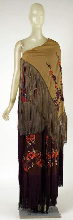 Evening Dress, Giorgio di Sant'Angelo, 1969, American, synthetic and silk