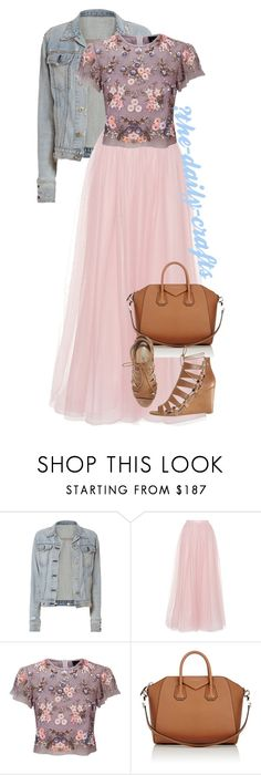 """""""Untitled #245"""" by the-daily-crafts ❤ liked on Polyvore featuring rag & bone, Costarellos, Needle & Thread, Givenchy and Avon"""