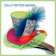 Circus Carnival Clown Ringmaster Mini Top por WillOtheWispWedding