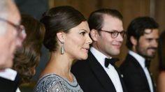 misshonoriaglossop:  Crown Princess Victoria, Prince Daniel and Prince Carl Philip, September 4, 2015