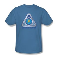 Star Trek Starfleet Academy Deptartment Astrophysics Youth Ladies Jr Men T-shirt #Trevco #GraphicTee