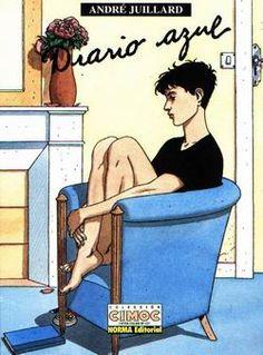 """""""El cuaderno azul"""" de André Juillard (1994)."""