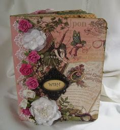 Once Upon A Springtime Altered Manila Folder Album