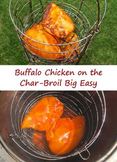 Buffalo Chicken on the Char-Broil Big Easy - Life's A TomatoLife's A Tomato