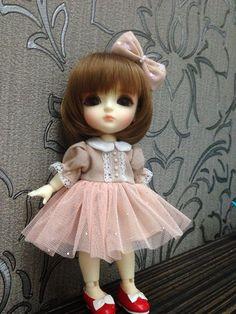 Brownie Dress Set for Lati Yellow/Pukifee by llkcandy on Etsy