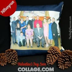 Share Your Love on Valentine's Day With a PillowGram from Collage.com   http://thestuffofsuccess.com