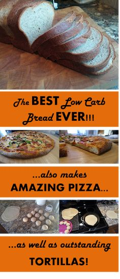 DLD: The BEST Low-Carb Bread EVER!!! Updated 3/9/2016 to include pictures of pizza made with this dough as the crust. I h...