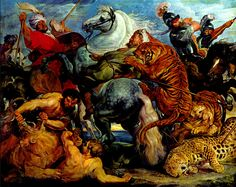 RUBENS Pieter Paul - Flemish (Siegen 1577-1640 Antwerp) - the tiger hunt…