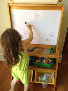 Good listening activities...write letters on the whiteboard and have them erase them as you call out the sound.