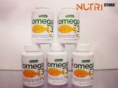 Omega 3- Ajuda extra para a saúde cardiovascular.  Os ácidos gordos omega-3 são fundamentais para a saúde cardiovascular, já que diminuem a concentração de triglicéridos no sangue, a pressão arterial, os processos inflamatórios e a agregação plaquetária. Visite o nosso site ->  www.nutristore.pt  Estamos em Odivelas e na Amadora.  #musasfitness #gym #fitness #bikini #wellness #treino #dieta #academia #nutrifit #nutri #viverbem #comida #saude #musculacao #light  #saudavel #delicia #gostoso…