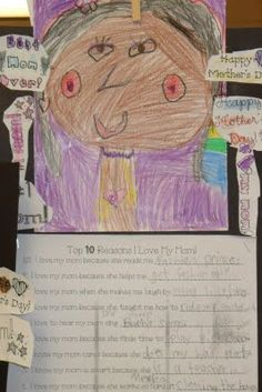 .: Mother's Day in First Grade