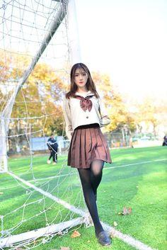 99474606 Pin on Chicks School Uniform Fashion, Japanese School Uniform, School Uniform Girls, Girls Uniforms, School Uniforms, Cute Asian Girls, Beautiful Asian Girls, Cute Girls, School Girl Japan