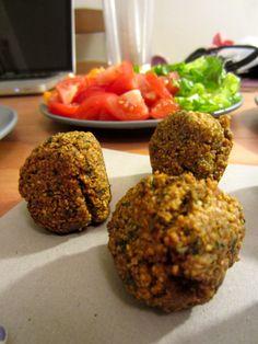 Easy Falafel Dinner--Great Vegetarian Meal!!
