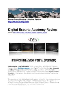 Digital Experts Academy is the new training from the joint venture of the Six Figure Mentors and Pro U. The Digital Experts Academy is created from Stuart Ross… Stuart Ross, Joint Venture, Articles, Train, Digital, Strollers